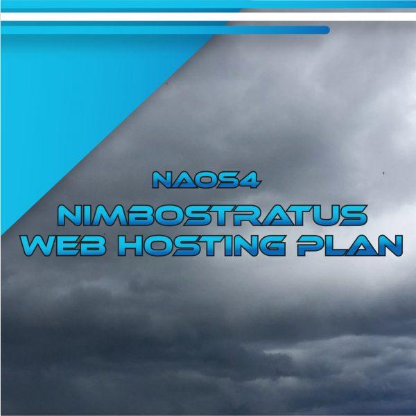 NAOS4 Nimbostratus Web Hosting Plan 100 GB