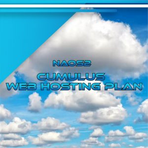 NAOS2 Cumulus Web Hosting Plan 40 GB