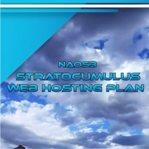 NAOS3 Stratocumulus Web Hosting Plan 80 GB