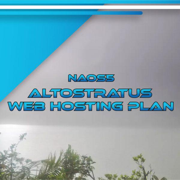 NAOS5 Altostratus Web Hosting Plan 120 GB