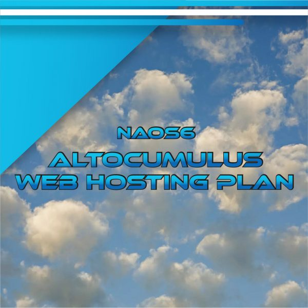 NAOS6 ALTOCUMULUS WEB HOSTING PLAN 140 GB
