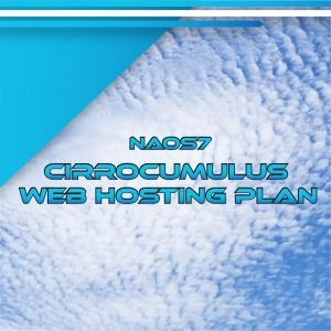 NAOS7 Cirrocumulus Web Hosting Plan 160 GB