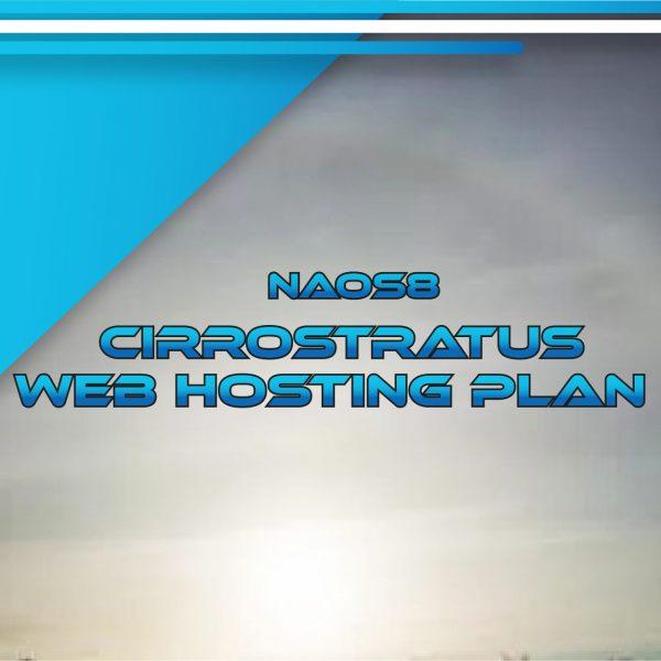 NAOS8 Cirrostratus Web Hosting Plan 180 GB